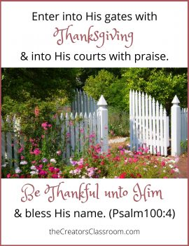 """photo of free scripture card that the reader can download, reminding them that they don't have to ask, """"why be thankful when you don't feel like it?"""""""