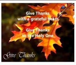 """Photo of the YouTube video and song """"Give Thanks"""" by Don Moen."""
